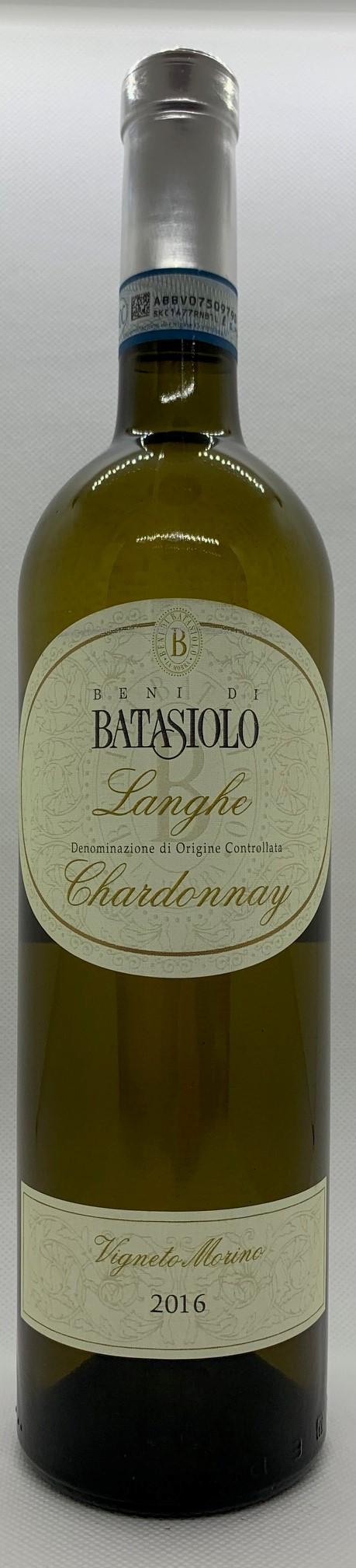 Batasiolo Langhe Chardonnay, Piemont, 2016, trocken