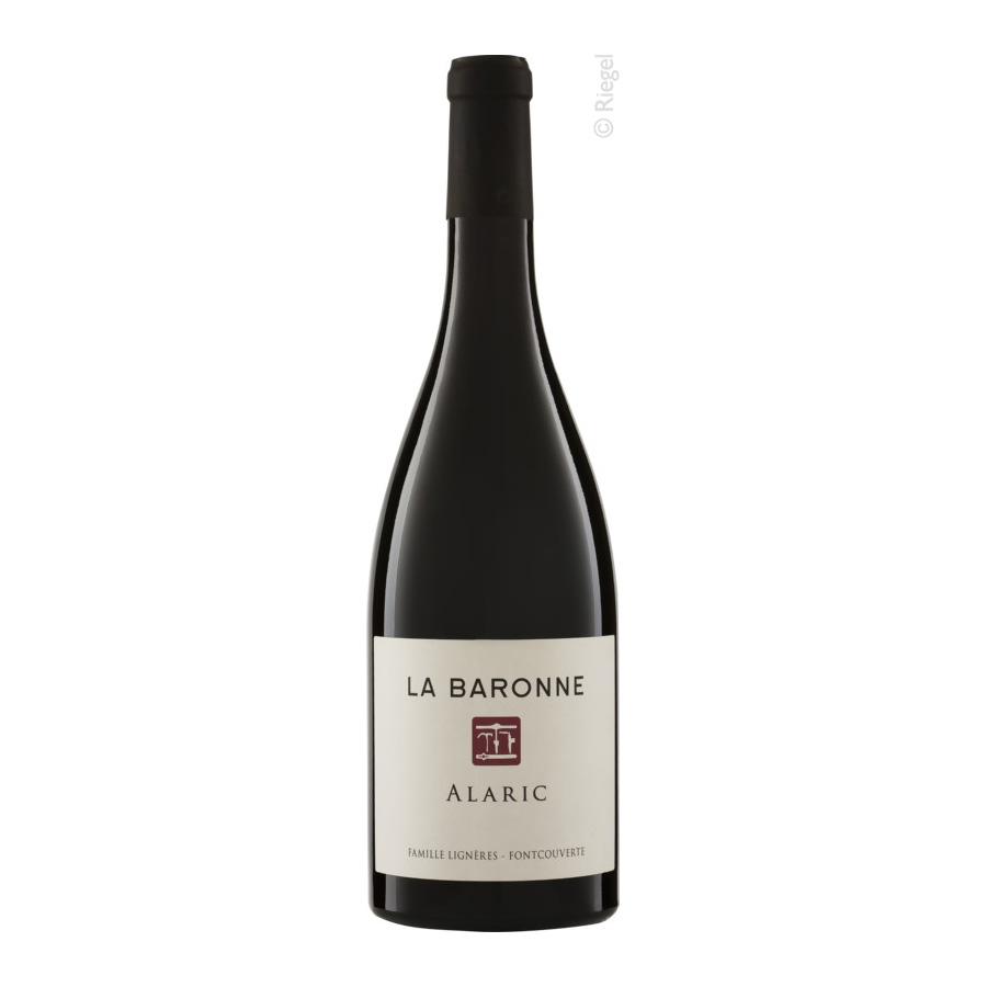 Alaric Rouge, 2015, AOP, tr., Bioprodukt, vegan - Ch. La Baronne
