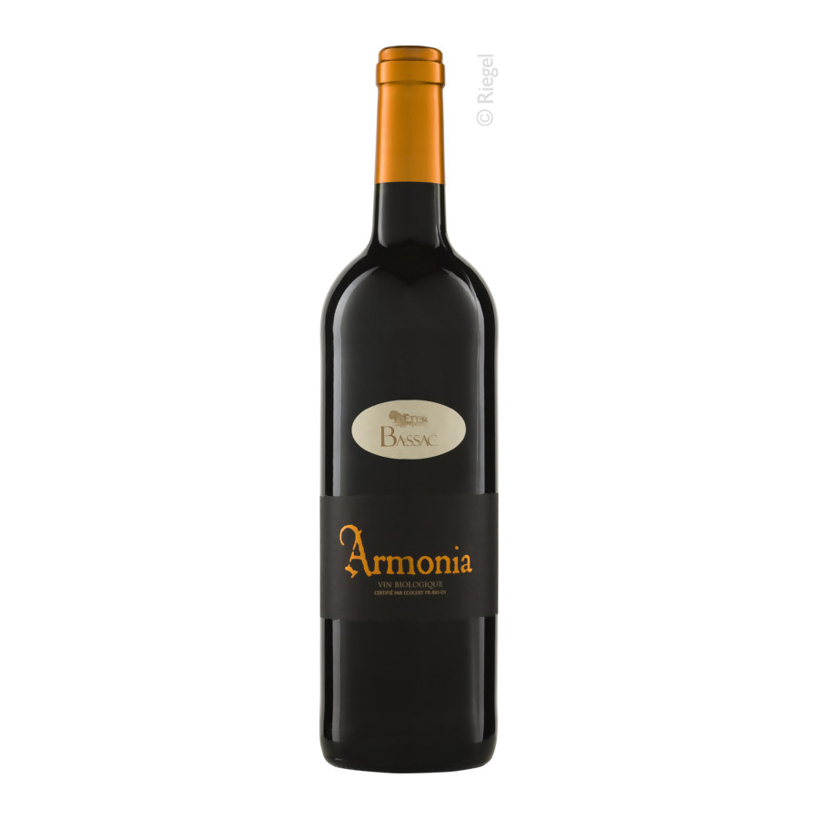 Armonia Rouge, 2019, tr., Bioprodukt, vegan - Dom. Bassac